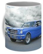 1965 Ford Mustang 'blue Coupe' IIa Coffee Mug