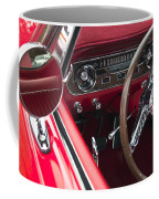 1965 Ford Mustang Fastback Dash Coffee Mug