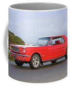 1965 Ford Mustang 'red Coupe' I Coffee Mug