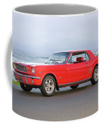 1965 Ford Mustang 'red Coupe' II Coffee Mug