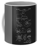1965 Golf Shoes Patent Coffee Mug
