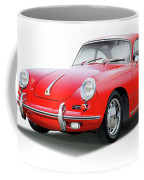 1965 Porshe 356 Sc Coupe Coffee Mug