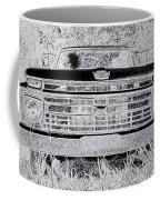 1966 Ford F100 Sketch Coffee Mug