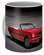 1966 Ford Mustang Convertible Coffee Mug