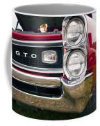 1966 Pontiac Gto Grill Coffee Mug