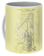 1966 Riding Mower Patent Coffee Mug