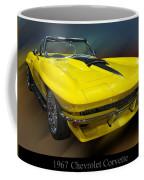 1967 Chevy Corvette Convertible Coffee Mug