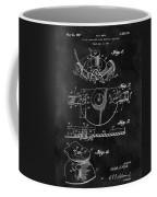 1967 Lawn Mower Patent Illustration Coffee Mug
