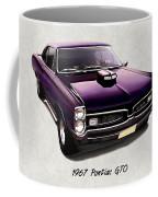 1967 Purple Pontiac Gto Coffee Mug