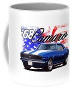 1968 Camaro Stars And Stripes Coffee Mug