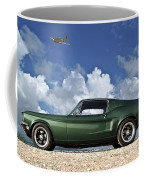 1968 Ford Bullitt Mustang Gt 390 Fastback, P-51 Mustang, Plymouth Rock Chicken Coffee Mug
