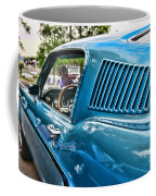 1968 Ford Mustang Fastback In Blue Coffee Mug