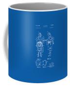1968 Hard Space Suit Patent Artwork - Blueprint Coffee Mug by Nikki Marie Smith