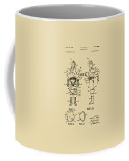 1968 Hard Space Suit Patent Artwork - Vintage Coffee Mug