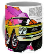 1968 Plymouth Gtx - Adios Coffee Mug