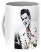 1968 White If I Can Dream Suit Coffee Mug by Rob De Vries