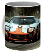 1969 24 Hours Of Le Mans Ford Gt40 First Place, Mixed Media  Coffee Mug