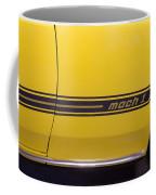 1969 Ford Mustang Mach 1 Logo Coffee Mug