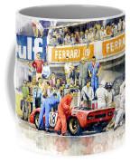 1969 Le Mans 24 Ferrari 312p Pedro Rodriguez  David Piper Coffee Mug