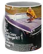1970 Dodge Challenger Rt Convertible Coffee Mug