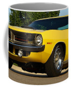 1970 Hemi 'cuda - Lemon Twist Yellow Coffee Mug