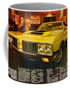 1970 Oldsmobile Cutlass 442 W-30 Coffee Mug