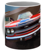 1970 Plymouth Gtx Vectorized Coffee Mug