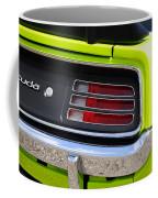 1970 Sublime Green Hemi 'cuda  Coffee Mug