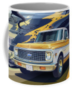 1971 Chevrolet C10 Cheyenne Fleetside 2wd Pickup Coffee Mug