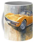 1971 Chevrolet Corvette Lt1 Coupe Coffee Mug