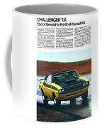 1971 Dodge Challenger T/a Coffee Mug