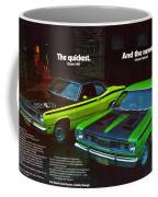 1971 Plymouth Duster 340 And Twister Coffee Mug