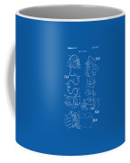 1973 Space Suit Elements Patent Artwork - Blueprint Coffee Mug by Nikki Marie Smith