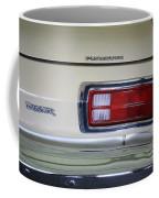 1974 Plymouth Duster Tail Light With Logos Coffee Mug