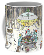 1980 Alien Yuletide Feast  Coffee Mug