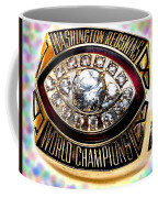 1982 Redskins Super Bowl Ring Coffee Mug by Paul Van Scott