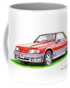 1989 Saleen Mustang Convertible Coffee Mug