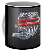 1990 Ferrari F1 Engine V12 Coffee Mug
