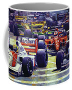 1992 Monaco Gp Start  Coffee Mug