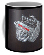 1996 Ferrari F1 V10 Engine Coffee Mug