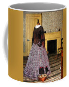 19th Century Plaid Dress Coffee Mug
