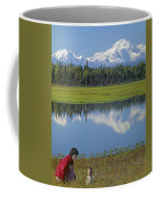 1m1326 Wife And Son In Denali National Park Coffee Mug