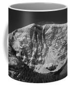 1m3769 Bw East Face Mt Kitchner Coffee Mug