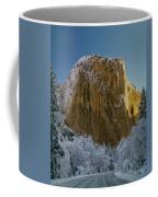1m6576-winter On El Capitan In 1970 Coffee Mug