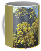 1m6610 Middle Cathedral Rock In Autumn Coffee Mug