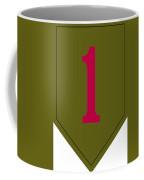 1st Infantry Division Shoulder Sleeve Coffee Mug