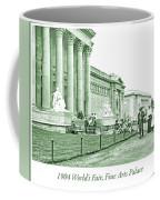 1904 World's Fair, Fine Arts Palace Coffee Mug