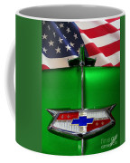 1954 Chevrolet Hood Emblem Coffee Mug
