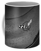 2002 Corvette Ls1 Painted Bw Coffee Mug