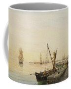 A Busy Harbour Coffee Mug
